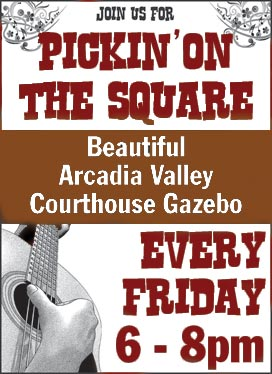 pickin on the square - beautiful arcadia valley courthouse gazebo - every friday 6-8pm - Missouri Vacations