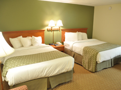 double bed room - Missouri Vacations