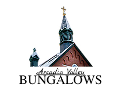 Arcadia Valley Bungalows logo - Missouri Vacations