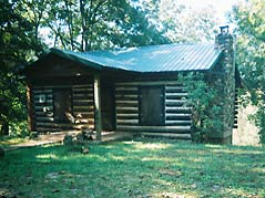 log cabin - Missouri Vacations