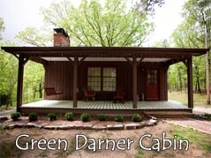 Green Darner Cabin exterior view - Missouri Vacations