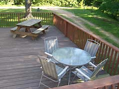 cabin deck - Missouri Vacations