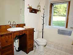 cabin bathroom - Missouri Vacations