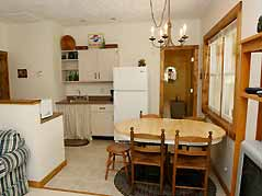 cabin kitchen - Missouri Vacations
