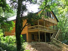 Cabin exterior - Missouri Vacations