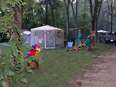 tent and dining fly - Missouri Vacations