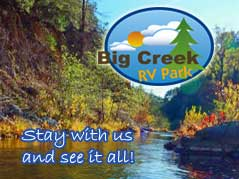 Big Creek RV park logo - Missouri Vacations