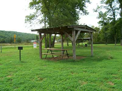 covered campsite - Missouri Vacations