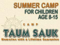 Camp Taum Sauk logo - Missouri Vacations