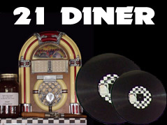 21 Diner logo - Missouri Vacations