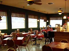 tables in a diner - Missouri Vacations
