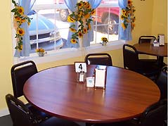 table set in cafe - Missouri Vacations