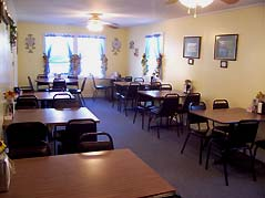 tables in diner - Missouri Vacations