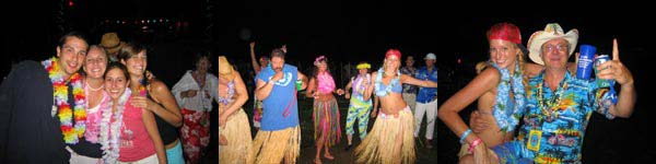 people dancing at luau - Missouri Vacations