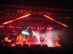 rock concert with stage lights - Missouri Vacations