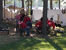 soldiers at camp - Missouri Vacations