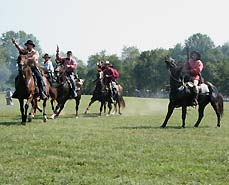 cavalry riders - Missouri Vacations