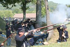 soldiers shooting - Missouri Vacations