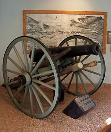 civil war era cannon - Missouri Vacations