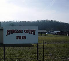 reynolds county fair sign - Missouri Vacations