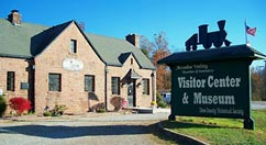 whistle junction visitors center - Missouri Vacations