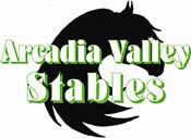 arcadia valley stables logo - Missouri Vacations