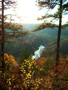 river in mark twain forest - Missouri Vacations