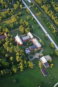 aerial view of Bed & Breakfast - Missouri Vacations