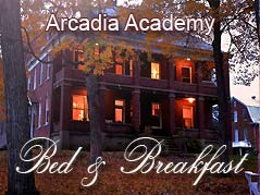 Arcadia Academy Bed & Breakfast logo - Missouri Vacations