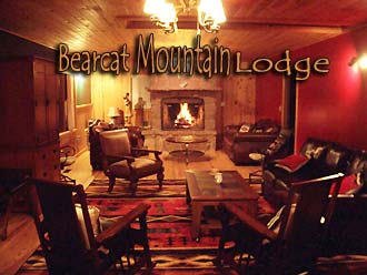 Bearcat Mountain Lodge logo - Missouri Vacations