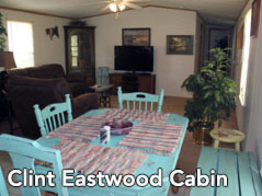 cabin dining room - Missouri Vacations