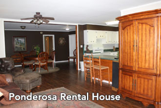 kitchen and dining room - Missouri Vacations