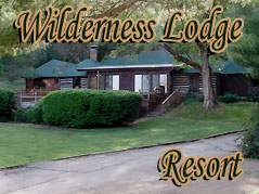 Wilderness Lodge Resort sign - Missouri Vacations
