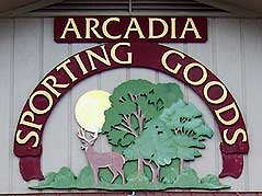 Arcadia Sporting Goods logo - Missouri Vacations