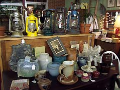 lanterns and bowls - Missouri Vacations