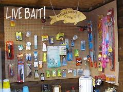 bait shop with tackle - Missouri Vacations