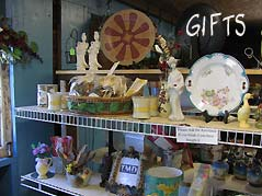rack with gifts - Missouri Vacations