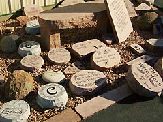 engraved stone steps - Missouri Vacations